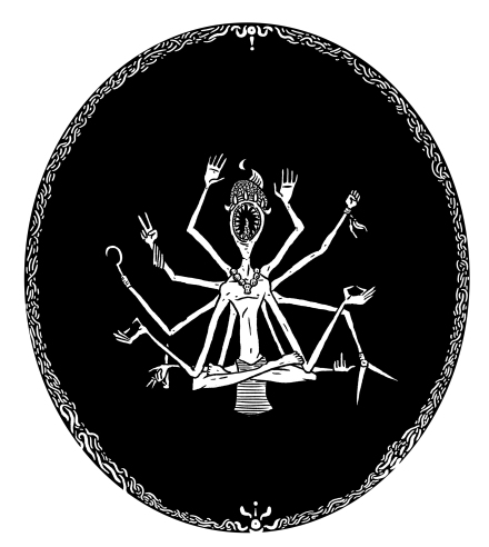 bob schofield's multi armed deity